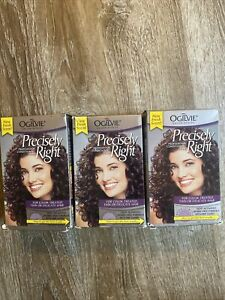 Lot 3 Pack Ogilvie Precisely Right Perm Color Treated Thin Or Delicate Hair NEW
