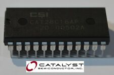 16K Bit CMOS Parallel EEPROM E2PROM 24 Pin CATALYST CSI CAT28C16AP -20