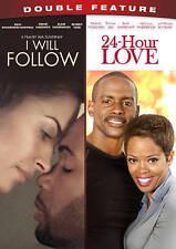 I Will Follow/24-Hour Love (DVD, 2014, 2-Disc Set) BRAND NEW  Malinda Williams