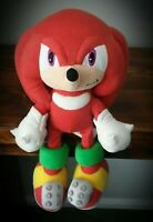 Rare Knuckles The Echidna Plush Soft Toy Sonic And Friends Sega Prize Europe