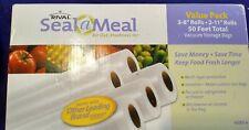 Rival Seal A Meal Value Pack VSB3-6 NIB