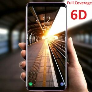 6D Samsung Galaxy S21+ Note S20 S10 5G 9 8 Ultra Tempered Glass Screen Protector
