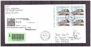 s16177) ITALIA 2007 Fiume data anticipata 11.11.2007 Assicurata Quartina