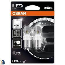 OSRAM LED Cool White PREMIUM P21/5W 380 12V BAY15d Bulbs 6000K 1557CW-02B x2