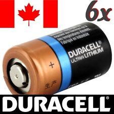 6 Pcs CR2 Lithium Battery Duracell Ultra Power Photo Batteries.Exp:2024