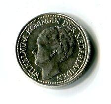 25 Cents Niederlande 1941 Wilhelmina Silber M_1080