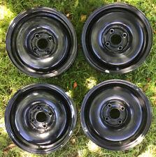 4 x VW Stahlfelgen 5,5x13H2 ET38 LK4x100