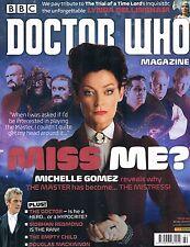 Doctor Who Magazine #480 Winter 2014 Michelle Gomez Siobhan Empty Child