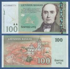 LITAUEN / LITHUANIA 100 Litu 2007 UNC  P.70