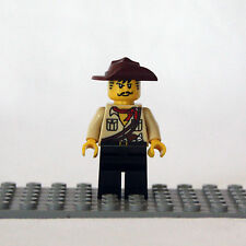 NEW LEGO The Lego Movie: Johnny Thunder Minifigure