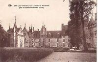 BF11372 cour d honneur du chateau de meillant france front/back image