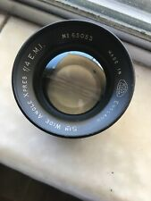 Ross 5 Inch Wide Angle Xpress F/4 E.M.I. Lens #65053 Late Edition