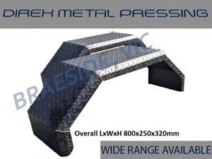 Trailer/Caravan/Off-Road Checker Plate Mudguards 250mm Wide