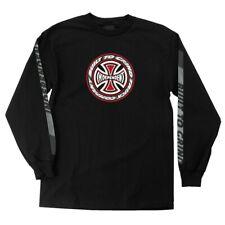Independent Trucks Tc Blaze Long Sleeve Skateboard Shirt Black Medium