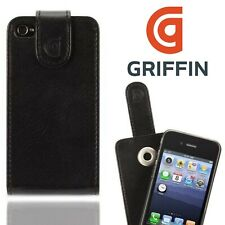 Griffin Flip Cover for Apple iPhone 4 4S Heavy Duty Vertical Folio Slim Case