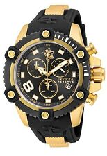 New Mens Invicta Sea Base 17976 Limited Edition Gold Black Bezel Watch