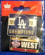 2017 DODGERS National League West Champions Dangler Pin