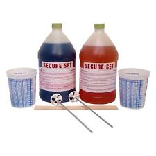 Secure Set Concrete Alternative Post Setting Foam White 10 Post Kit 2 Gal Repair