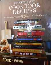 Best of the Best: Cookbook Recipes vol. 13 by Food & Wine Mag. new hardcover