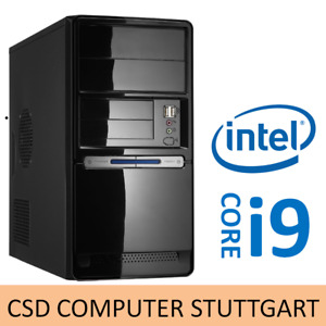 AUFRÜST PC: INTEL CORE i9 9900 8x 5,0GHz EIGHTCORE COFFEE LAKE 8GB DDR4 USB3.1