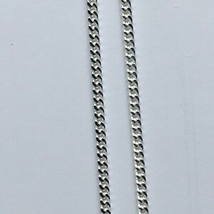 Sterling Silver Fine Curb Chain (width 1mm) - various lengths available