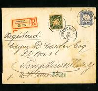 Bavaria Registered Stamp Cover