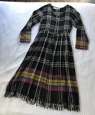 vintage 90s romper rayon lace grunge babydoll black festival plunge dress SM