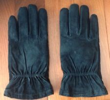 WONDERFIT Gloves by ISOTONER in Genuine Suede Leather, Size - Medium Narrow