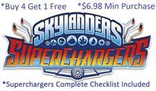 * Skylanders SuperChargers Complete UR Set w Checklist $6.98 Min 👾Buy 4 get 1👾