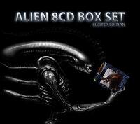 Alien Soundtracks Boxset - 8 x CD Complete - Limited Edition - Jerry Goldsmith