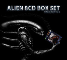 Alien Soundtracks Boxset - 8 x CD Complete - Limited Edition - Jerry Goldsmith