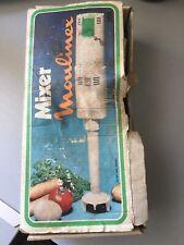 SUPER MIXER PLONGEANT MOULINEX VINTAGE NUMÉRO 365 COMPLET ÉTAT DE FONCTIONNEMENT
