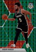 2019-20 Panini Mosaic NBA Basketball Green Parallel Singles (Pick Your Cards)