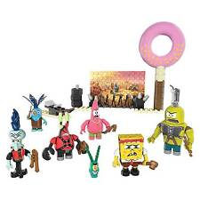Mega Bloks Spongebob Square Pants Post-apocalypse Figure Pack 87pieces