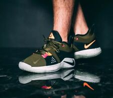 b1a689f85df NIKE PG 2 Men s Trainers AJ2039-300 OLIVE CANVAS Size UK 7.5 EUR 42 BNIB