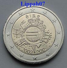 Ierland 2 euro 10 jaar Euro 2012 UNC