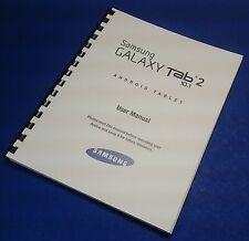 Samsung Galaxy Tablet Tab 2 10.1 (Wi-Fi) (GT-P5113) User Manual
