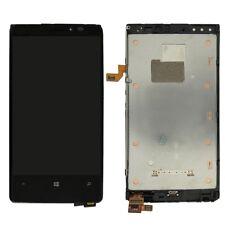 Nokia Lumia 920 N920 écran LCD Numériseur Tactile Assemblage Noir avec cadre