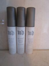 URBAN DECAY DE-SLICK MAKEUP SETTING SPRAY 1 OZ TRAVEL SIZE SEE DETAILS LOT OF 3