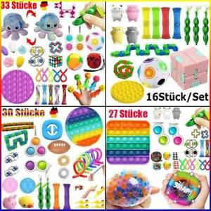 Push Pop It Bubble Sensory Fidget Toy Set Autismus SEN ADH Stressabbau Spielzeug