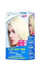 Max Blond  Bleaching Lightening CREAM PEROXIDE & BLUE POWDER