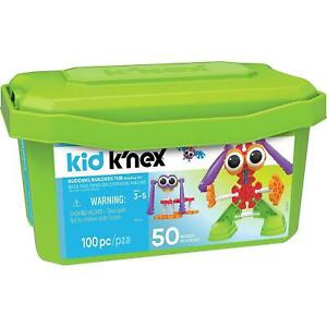 K'Nex Kid Budding Builders Building Set With 100 Pieces, Construction, 3-5 Years