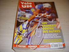CYCLISME VELO UN 10 02.95 DE LAS CUEVAS ROUSSEAU VANDERAERDEN ABDOUJAPAROV
