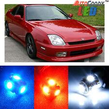 6 x Premium Xenon White LED Lights Interior Package Kit for Honda Prelude + Tool