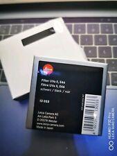 Leica UVa filter e46 II black
