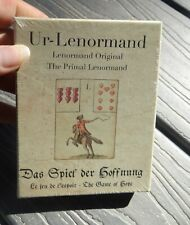 UR-LENORMAND PRIMAL TAROT CARDS DECK ORACLE GAME OF HOPE For Cat Sanctuary