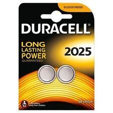 10x Duracell 2025 CR2025 Lithium Batteries Coin Button Cell Car Alarm Key Fob