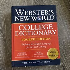 Webster's New World College Dictionary Fourth Edition Indexed