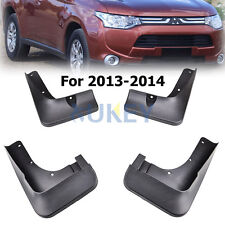 4PCS FOR MITSUBISHI OUTLANDER 2013-15 MUD FLAP FLAPS SPLASH GUARD MUDGUARDS 2014