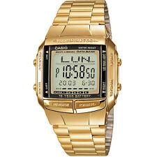 Reloj Casio db-360gn-9aef reloj pulsera reloj digital caballeros de acero inoxidable oro nuevo & OVP